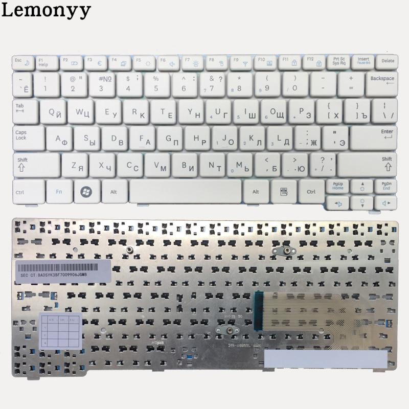 Image 2 - New Russian keyboard for Samsung N150 NB20 NB30 N143 N148 NPN148 NPN150 N158 RU laptop keyboard White/black-in Replacement Keyboards from Computer & Office on