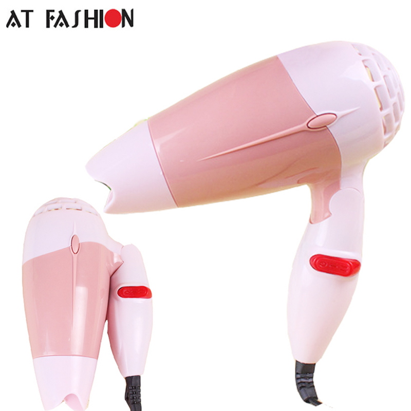 220V Hot Sales Mini Foldable Handle Design Portable Thermostatic Air collecting Traveller Compact Blower Electric Hair Dryer
