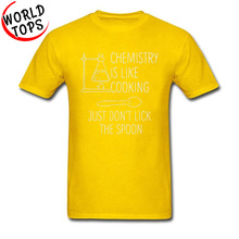 Funny Chemistry Experiment T Shirt Test Like Cooking Project Development Black Tshirts Mens Fashion Streetwear Clothes