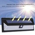 Солнечная садовая светодиодная Солнечная лампа датчик движения водонепроницаемый Наружное освещение украшение уличные фонари безопаснос...