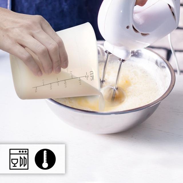 500ml Flexible Silicone Measuring Cups