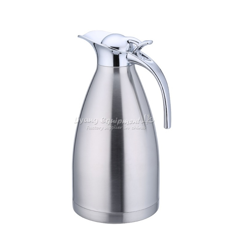 Minus 196!Cold resistant,Professional liquid nitrogen kettle 2L for degree,send a pair of gloves for free! ly liquid nitrogen super cold resistant kettle 2l