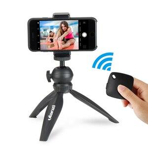 Image 2 - Ulanzi Table Top Mini Statief Smartphone Statief Bluetooth Afstandsbediening Voor Iphone X Iphone 8 Samsung Android Mobiele Vlogging