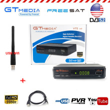 GTmedia V7S FTA Cline Decoder HD Receptor Satellite Receiver DVB S2 Tuner TV Box Wifi Youtube