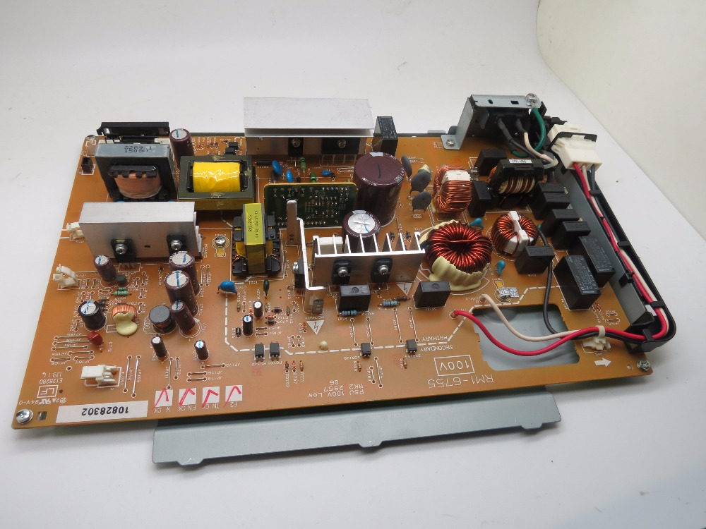 Used Original Power board For Canon 9100 Power board 110V (RM1-6755) dhl ems used for sch neider vx5a1hd22n4 power driver board tested