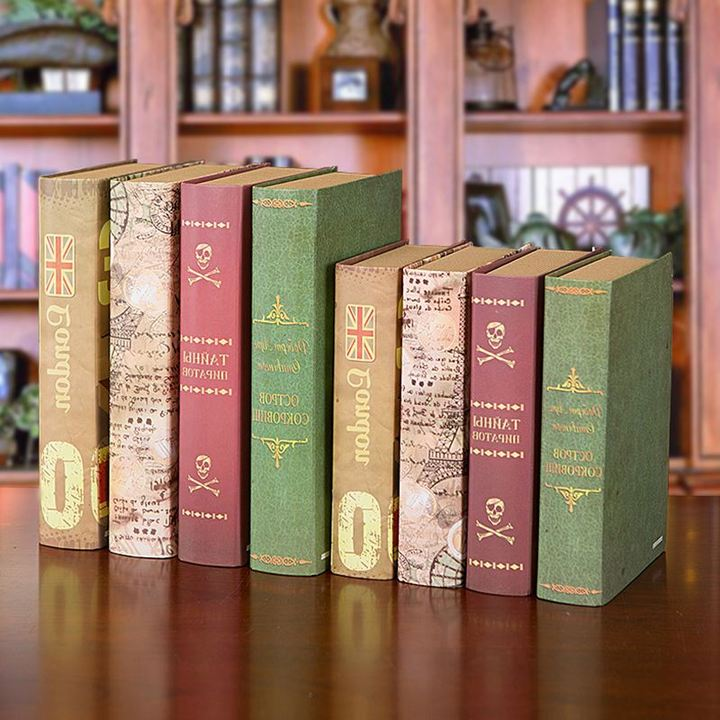 Online buy wholesale fake books from china fake books for Modern home decor books