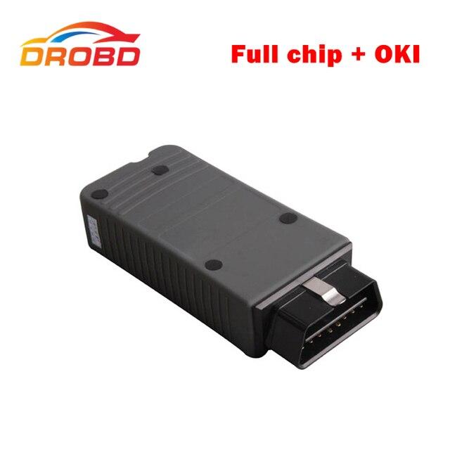 2017 de Alta Calidad de chip Con OKI VAS5054A Bluetooth Completo Verde PCB junta ODIS 3.01 Protocolo UDS Soporte Para VW Aud SKODA