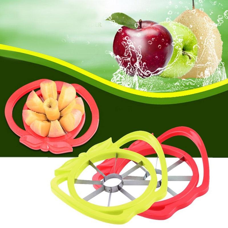 Cortador de manzana Cuchillo Corer Fruit Slicer Handle Easy Apple - Cocina, comedor y bar