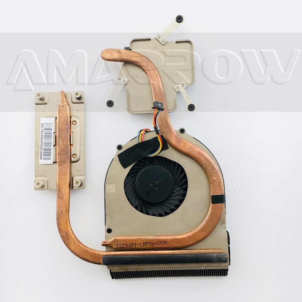Original free shipping CPU heatsink cooling fan For Lenovo V580 B580 B590 60.4XB16.001 new original for ibm lenovo thinkpad t400 cpu fan with heatsink 45n6144 45n6145 notebook cpu cooler cooling fan free shipping