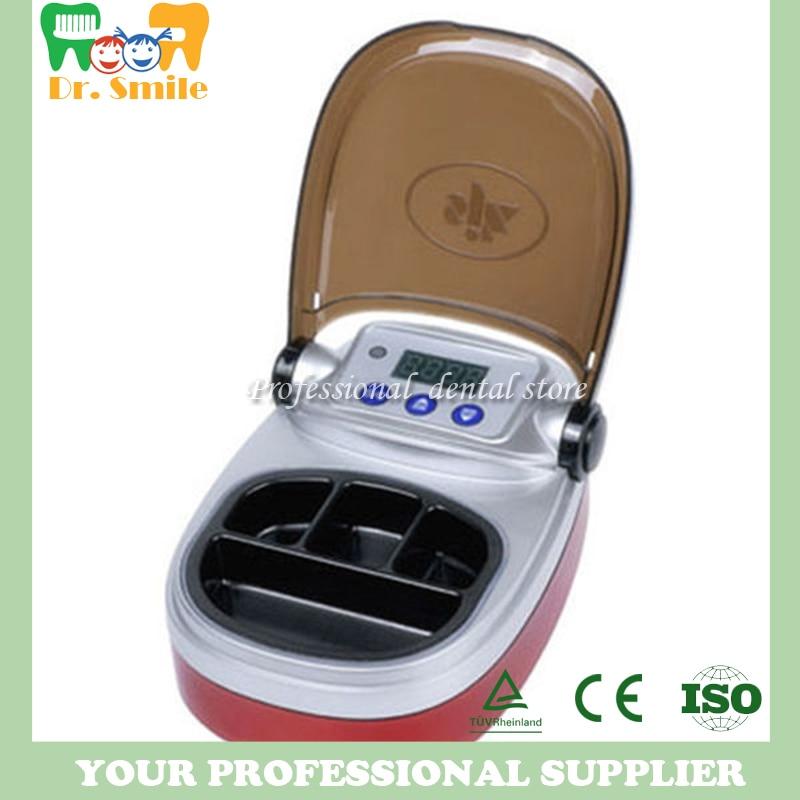 Dental Lab Equipment Wax Heater 4-well Wax Heating Analog Dipping Pot 2018 deasin dentist lab equipment dental 3 well analog wax melting dipping pot heater melter