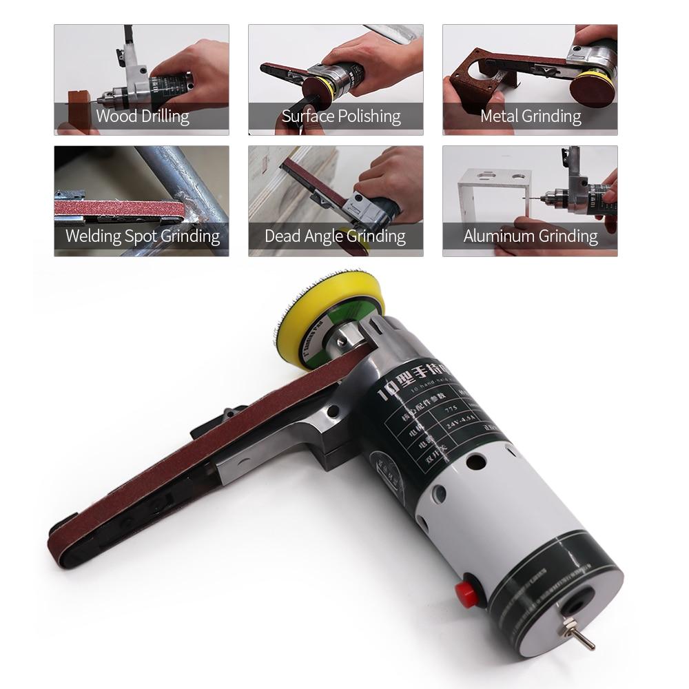Mini Micro Small Electric Aluminum Hand Portable Handheld Drill Bits OJ