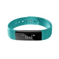 ID115 Smart Bracelet Fitness Tracker Watch Alarm Clock Step Counter Smart Wristband Bluetooth Sport Sleep Monitor
