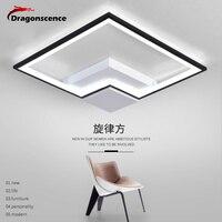 Dragonscence Modern Led Ceiling Light Remote Ceiling Lamp Fixture Abajour Luminaria Luster Avize For Dining Living