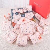 2019 Winter Print Newborn Baby Girl Clothes Cotton Cartoon Newborn Set for Baby Boys 19 Pcs/Set