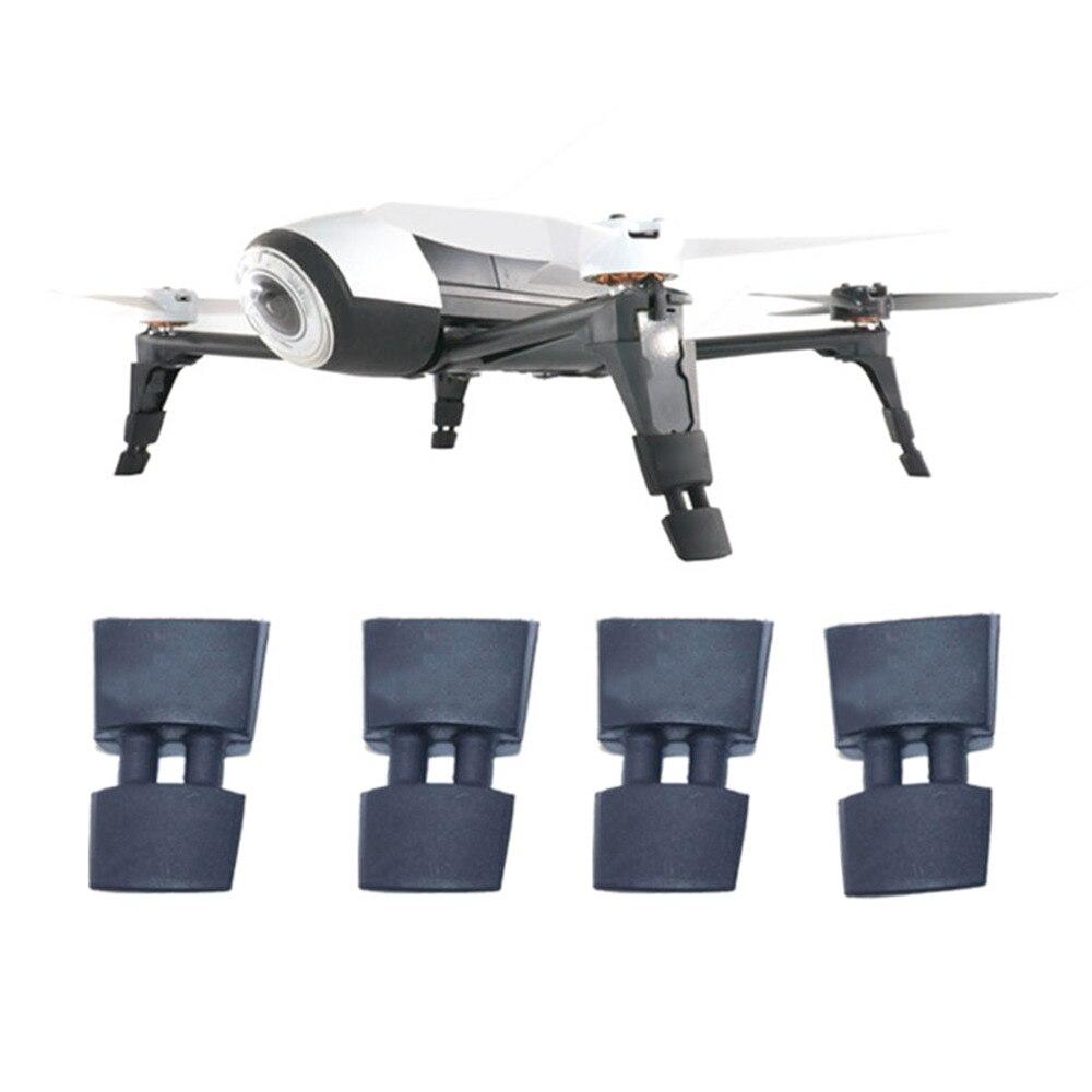 4 Stuks Rubber Gevallen Landingsgestel Hoogte Extender Been Protector Extension Voor Papegaai Bebop 2 Fpv Hd Video Drones Landing Gear Non-Strijkservice