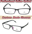 F 072[Online optitian ]Optical Custom made optical lenses Reading glasses +1 +1.5 +2+2.5 +3 +3.5 +4 +4.5 +5 +5.5 +6 +7