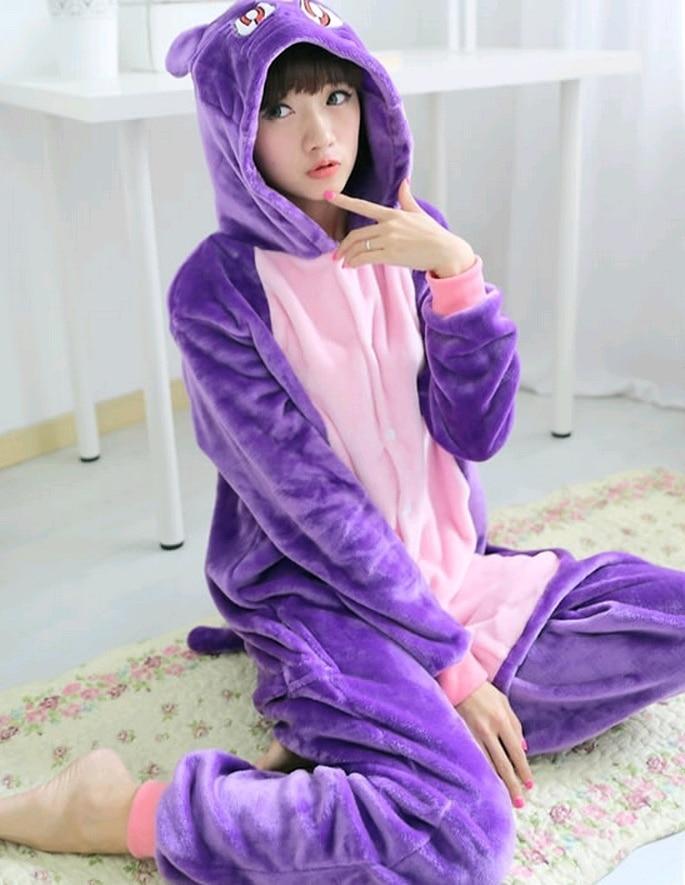 Anime Sailor Moon Diana Purple Luna Cat Onesies Adult Pyjamas Children Cosplay Costume Winter Pajamas Halloween Party Dress