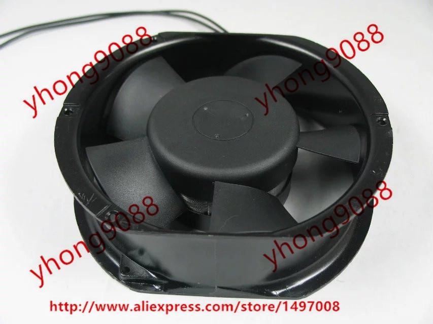 Emacro CNDF TA15052HBL-2 AC 220V 0.18A 172x172x52mm Server Round fan ebmpapst a6e450 ap02 01 ac 230v 0 79a 0 96a 160w 220w 450x450mm server round fan outer rotor fan