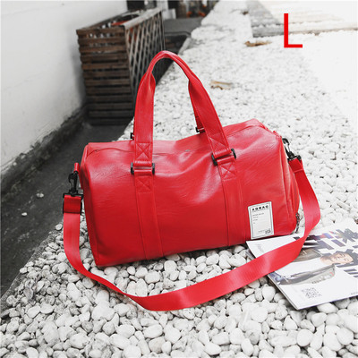 7040cac636a3 Для мужчин из искусственной кожи Gym bag мужской большая спортивная сумка  для Фитнес Для мужчин Для женщин Сумки Training сумка с Обувь карман SAC de  Спорт ...
