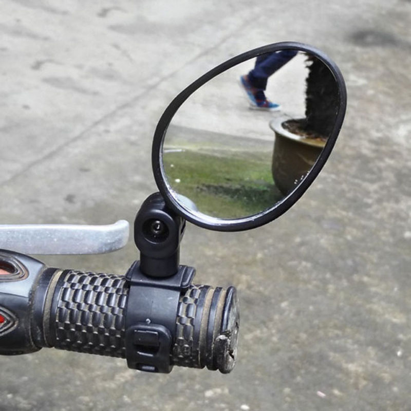 360 Degrees Mini Adjustable Bike Rearview Mirror Cycling Bicycle Handlebar Flexible Safe Rearview Rear View Mirror