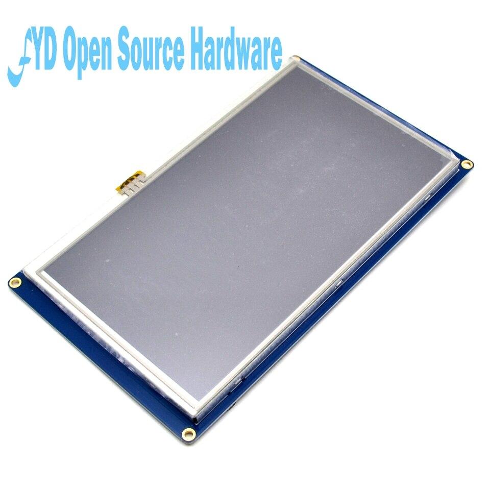 Nextion pantalla táctil TFT de 7,0 pulgadas 800x480 UART HMI inteligente Panel de visualización de módulo LCD para modelo Raspberry Pi 3 - 2
