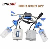 55w AC hid xenon kit ballast hid conversion kit xenon ballast xenon bulb white color 6000k car headlight auto lamp h1 h7 h8