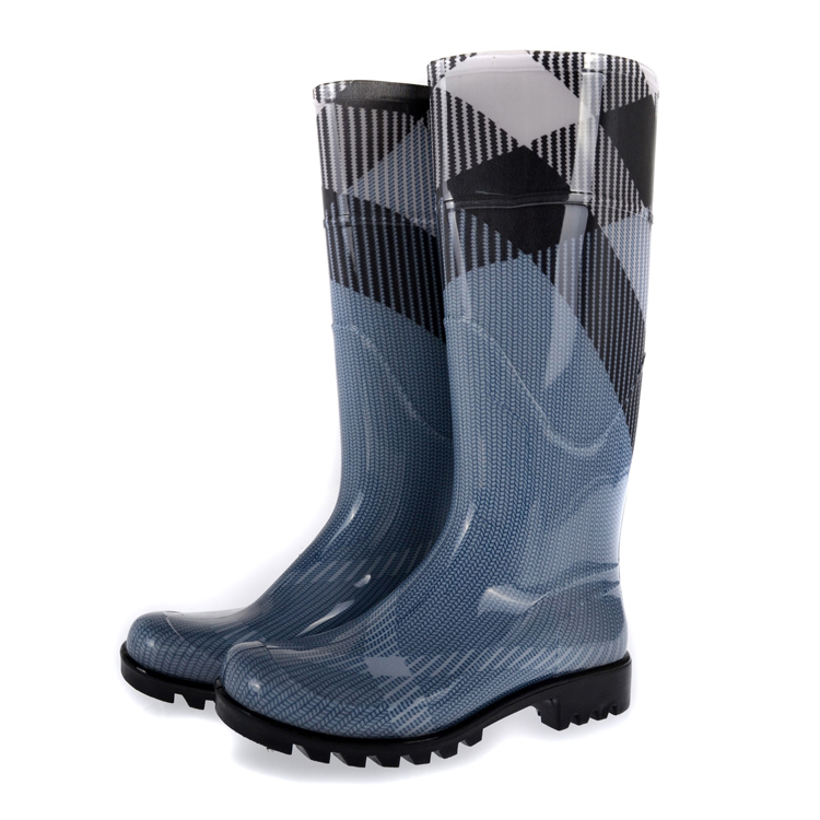 Aliexpress.com : Buy rain boots women waterproof plaid boots brand ...