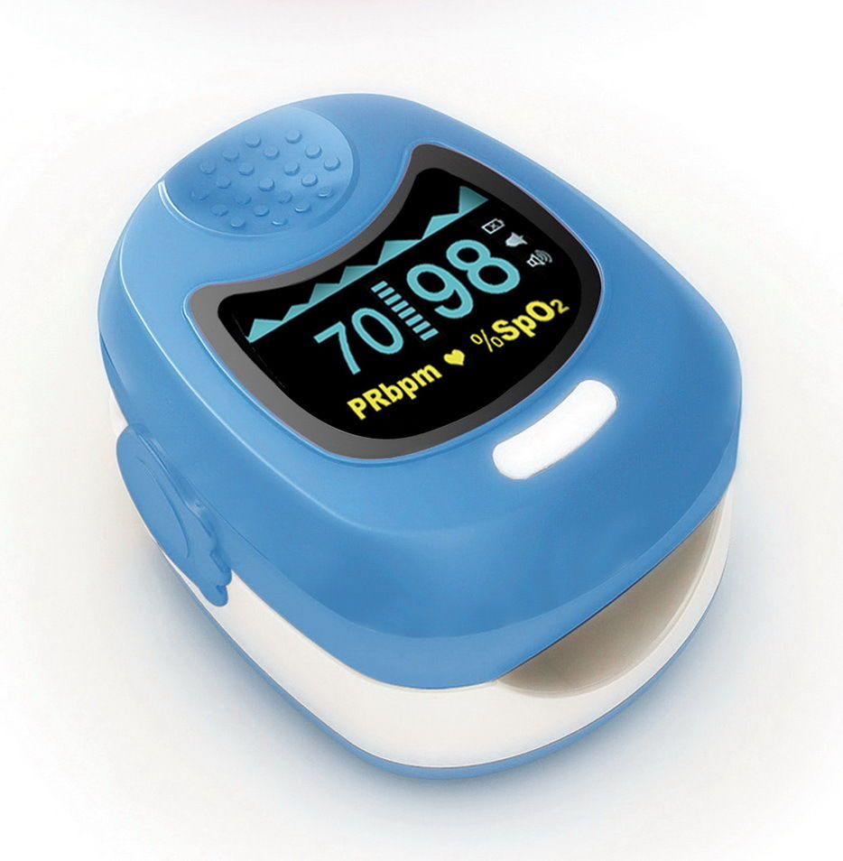 ФОТО CMS50QB Kids / Children / Pediatric Pulse Oximeter with Button Battery&Charger