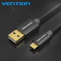 Vention Micro USB Fast Charging Cable 1m 2m USB Data Cable Mobile Phone Cable for Samsung Galaxy S4 HTC Smart Phone  LG Android
