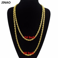Jin Ao Collares Mujer Jewelry 2015 New Summer Style Long Chain Necklaces 18k Gold Filled Choker