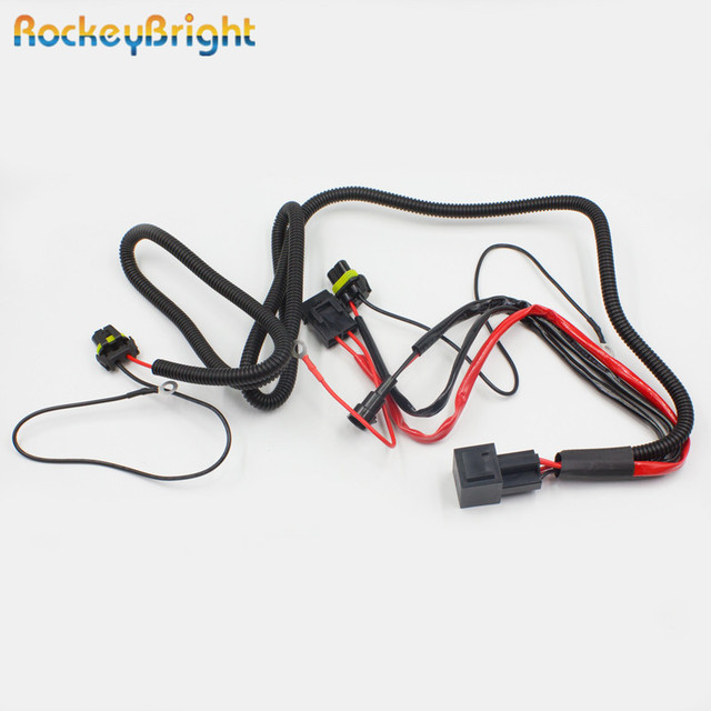 rockeybright hid xenon bulb extension cable xenon hid kit relay rh aliexpress com Relay Wiring Diagram Installing a Headlight Wiring Harness