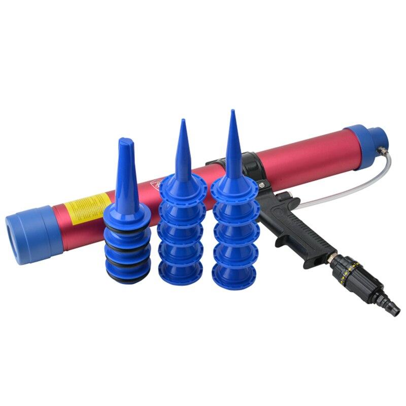 Pneumatic Air Glass Gel Glue Sealant Gun Caulking Cartridge Spraying Foaming Sealing Guns Pneumatic Joint Seal Gap Filling Tools  цены