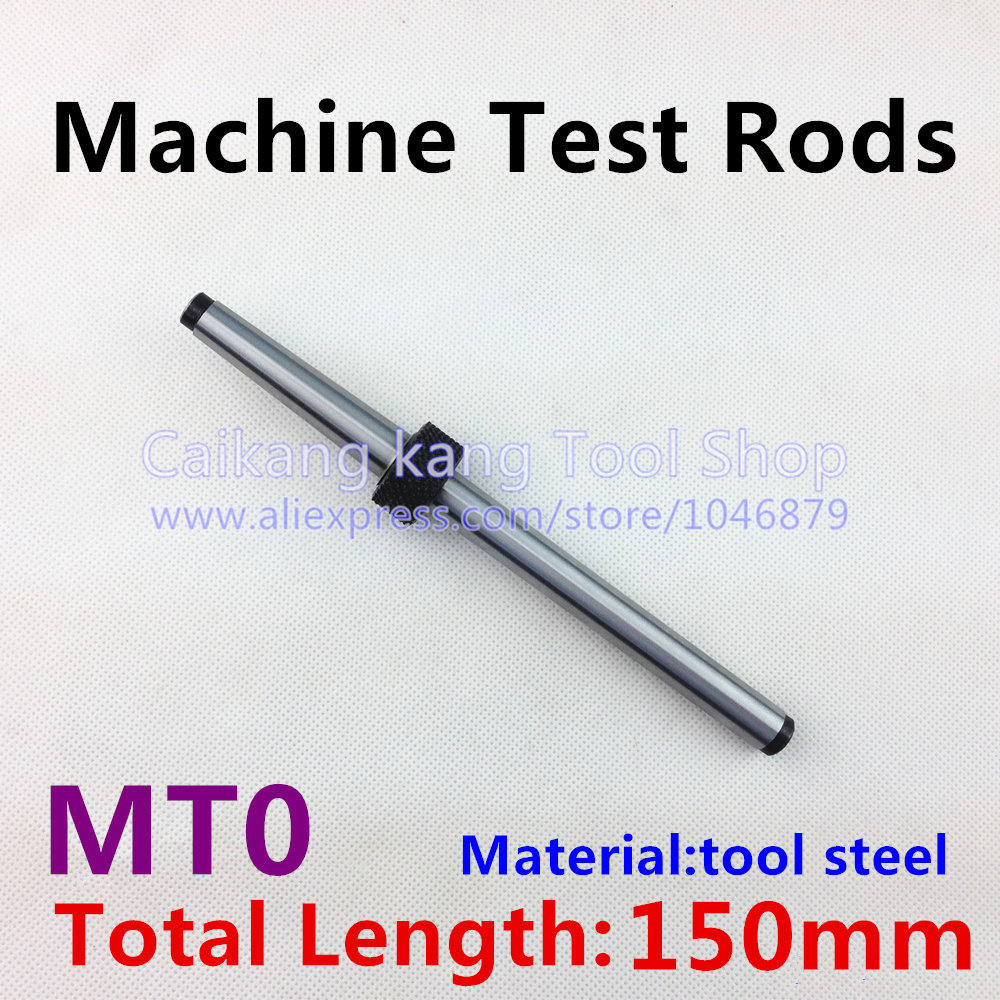 MT 0 New Mohs machine test rods CNC machine spindle test bar Mandrel 0 # Material: Tool Steel Measuring length: 150mm pro skit taiwan bao mt 7062 hdmi cable measuring tester test