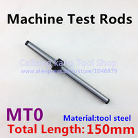 MT 0 New Mohs machine test rods CNC machine spindle test bar Mandrel 0 # Material: Tool Steel Measuring length: 150mm