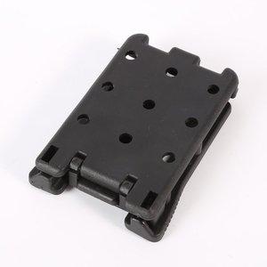 Image 5 - Clip trasero Kydex abrazadera de cintura Scabbard caza Camping cinturón Clip engranaje multifunción K accesorios vaina