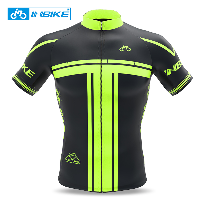INBIKE Sport Bike Team Racing Cycling Jersey Tops Summer Bicycle Cycling Clothing Ropa Ciclismo Breathable MTB Bike Jersey Shirt