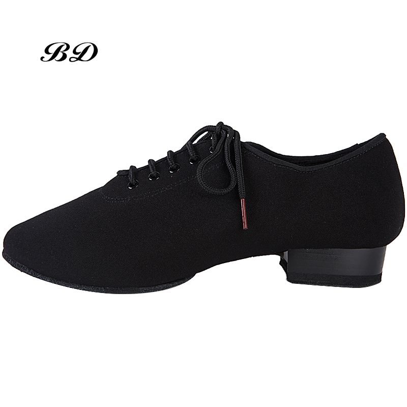 MEN SHOES Profession Latin Dance Shoes Ballroom Shoe Modern GB Waltz Friendship Soft Cowhide Premium Oxford Heel 2.5 Cm BD 309