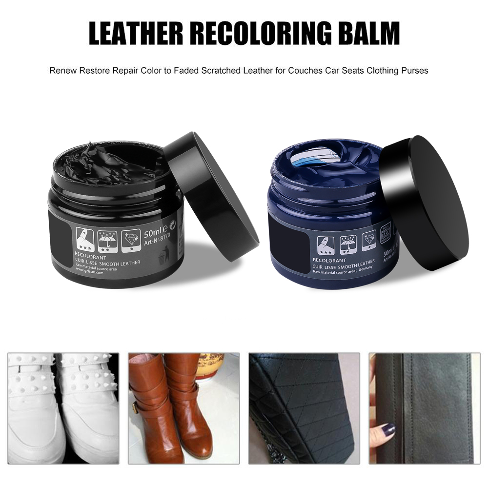 Car Leather Repair kit Cream Vinyl Repair set Auto Seat Sofa Coats Holes Scratch Cracks Rips Repair Tool Restoration no Liquid