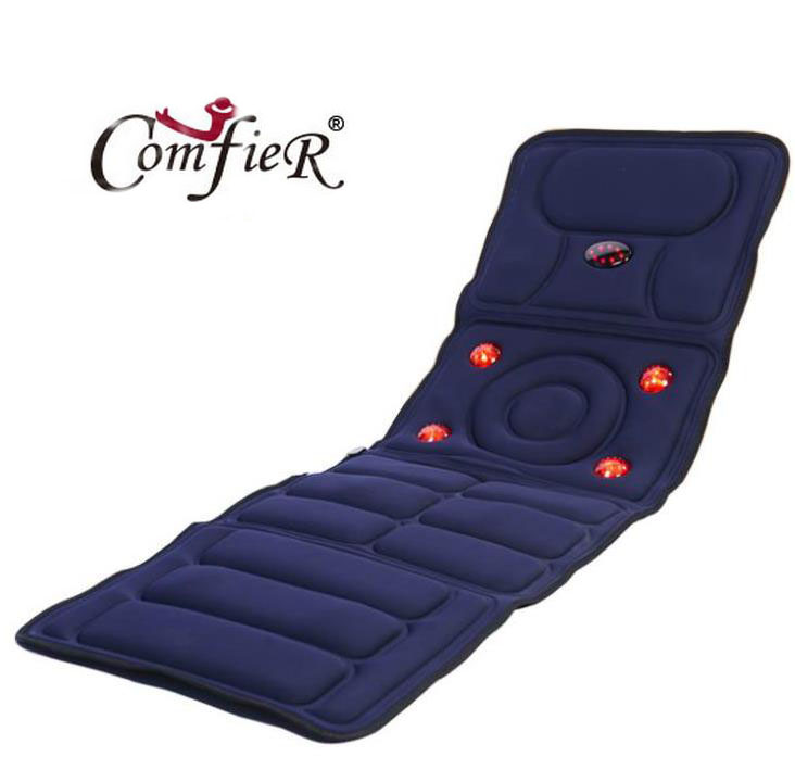 Фотография Full-body massage health care health monitor vibration massage mattress body massage head of infrared massager