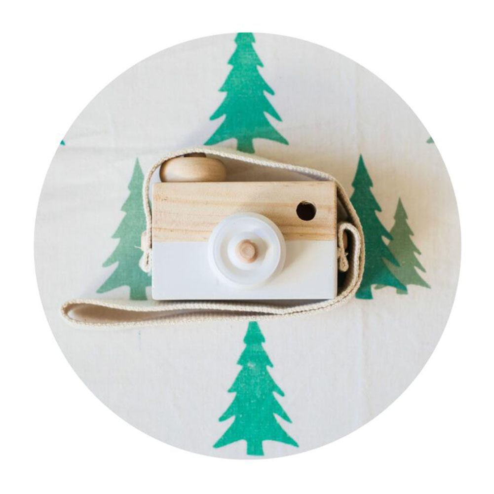 Cute Camera Kids Funny Toy Handmade Wooden Camera Toys Baby Kids Safe Educational Toys Baby Gifts Photography Prop Decoration