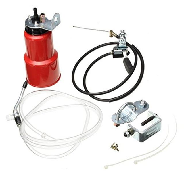 Conjunto de mantenimiento del lubricante de la cadena de la motocicleta