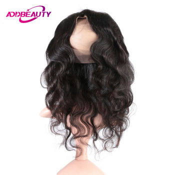 Human Hair Brazilian Virgin Hair Lace Frontal Closure Blonde Bundles Body Wave AddBeauty 360 Swiss Pre Plucked Natural Hairline