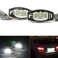 2Pcs 18 LED License Plate Lights Number Lamp F For Honda Accord Odyssey Acura TSX Civic