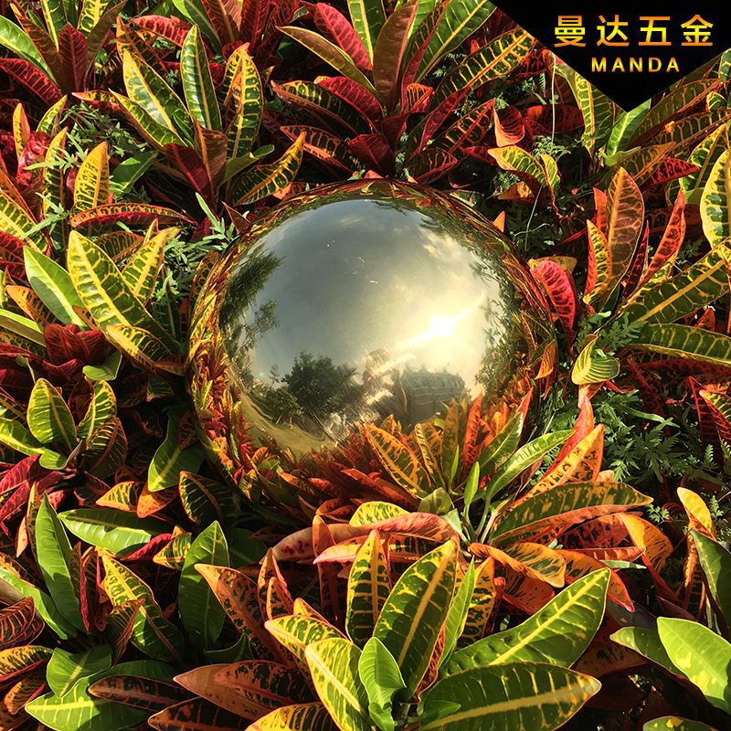 1 PCS 250MM Stainless Steel Hollow Ball Mirror Polished Shiny Sphere For Garden Ornament Free Shipping 304 gloden 304 stainless steel hollow ball steel ball ball ornaments decorative titanium balls 80 90 100mm 3pcs