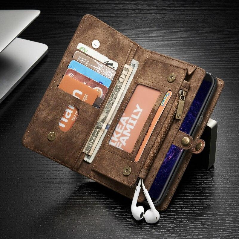 imágenes para Top Fashion Limited Suciedad-resistente Del Tirón de lujo Para Samsung Galaxy S8 Plus Monedero Cubierta Del Teléfono de Protección Para El Borde de Coque 2017