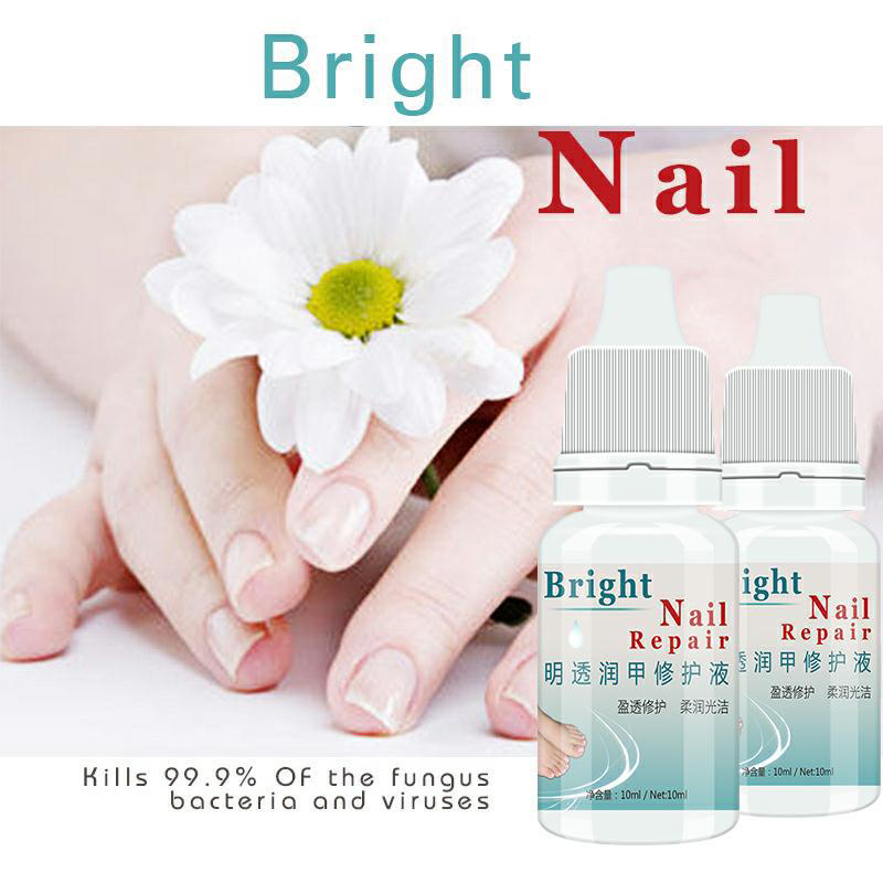 10ML Fungal Nail Treatment Essence Nail Foot Whitening Toe Nail Fungus Removal Feet Care Nail Gel For Onychomycosis  TSLM2