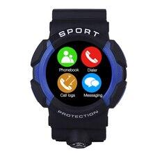 Heißer verkauf! 2016 New Sport Smart uhr NO. 1 A10 Bluetooth Wasserdicht Ip68 SmartWatch Für Smartphones Mit Herzfrequenz Für Außen S