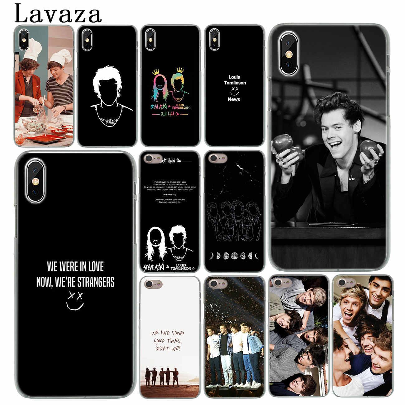 Lavaza – coque de téléphone rigide Louis Tomlinson, One Direction, étui pour iPhone XR X 11 Pro XS Max 8 7 6 6S 5 5s SE 4s 4 10