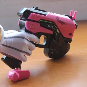Image 4 - Watch Over D.Va Gun Headphone for Cosplay Weapon Hana Song D VA Prop Pistol Headset Accessories for Halloween Christmas Gift DVA