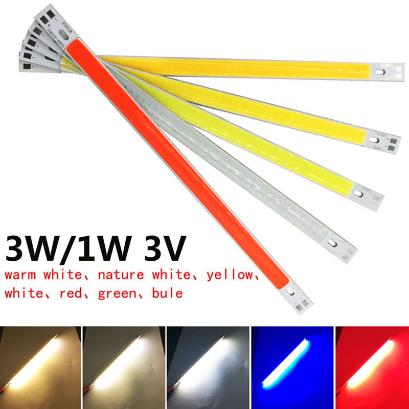 2019 60x8mm COB Chip Light Eco-Friendly DIY LED Panel Strip For Spotlight Drop Shipping